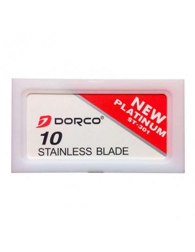 Dorco Platinum (ST301) dviašmeniai skutimosi peiliukai 10 vnt