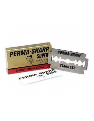 Perma-Sharp divpusēji skūšanās asmeņi 5 gab
