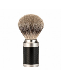 Mühle skūšanās birste Rocca Black Silvertip Badger