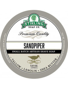 Skutimosi muilas Stirling Soap Sandpiper 170ml