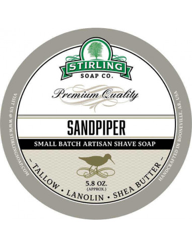 Raseerimisseep Stirling Soap Sandpiper 170ml