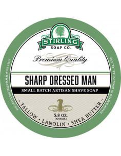Skūšanās ziepes Stirling Soap Sharp Dressed Man 170ml