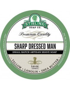 Skutimosi muilas Stirling Soap Sharp Dressed Man 170ml