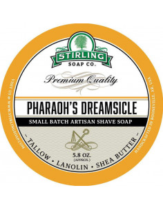 Skutimosi muilas Stirling Soap Pharaoh's Dreamsicle 170ml