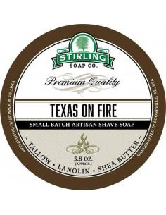 Skūšanās ziepes Stirling Soap Texas on fire 170ml