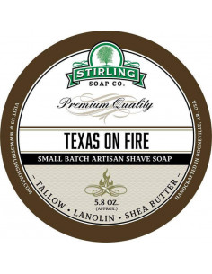 "Skutimosi muilas Stirling Soap ""Texas on fire"" 170ml"