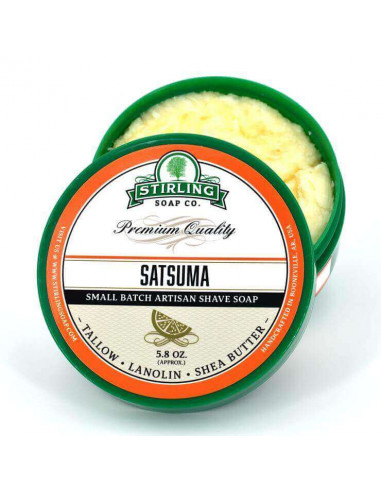 Skutimosi muilas Stirling Soap Satsuma 170ml
