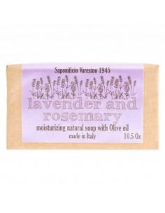 Saponificio Varesino Lavender ja Rosemary Seep 300g