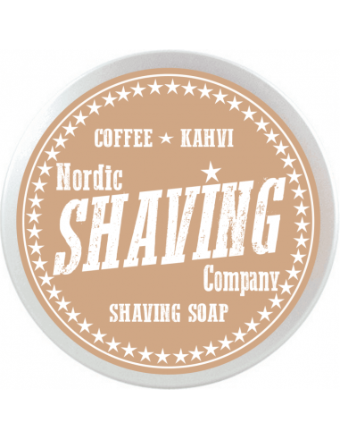 Nordic Shaving Soap Coffee 80g