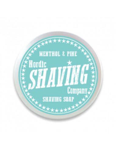 Skutimosi muilas Nordic Shaving Company Menthol & Pine 80g