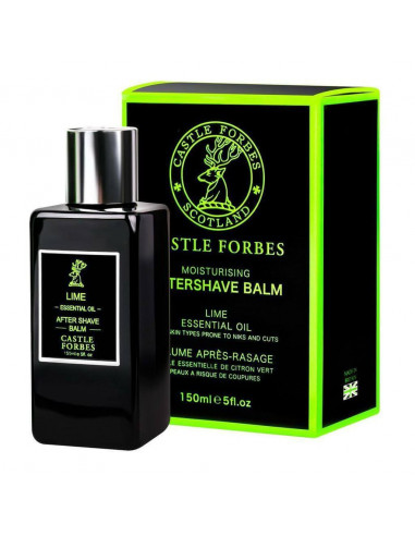 Castle Forbes Balzamas po skutimosi Lime Essential Oil 150ml