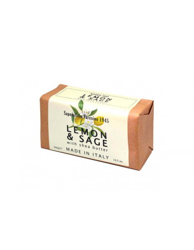 Saponificio Varesino ziepes ar citronu un salviju 300g