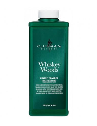 Clubman Pinaud Talko Milteliai Whiskey Woods 255g