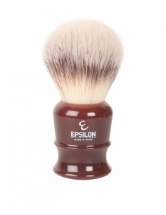 Skutimosi šepetėlis Epsilon Silvertip Fibre Hair Burgundy 26mm