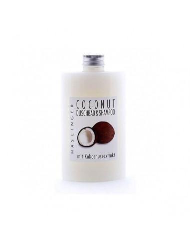 Haslinger šampūnas ir dušo gelis Coconut 200ml