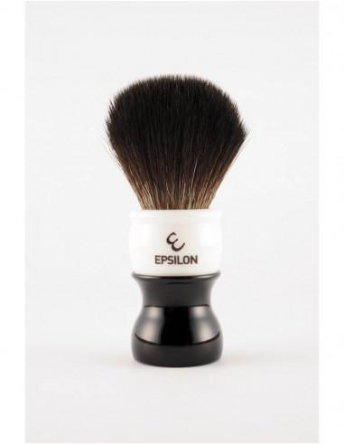 Skutimosi šepetėlis Epsilon Black Fibre Black & White