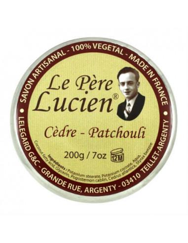 Le Père Lucien skutimosi muilas Cedar...