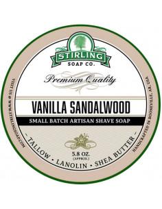 Skūšanās ziepes Stirling Soap Vanilla Sandalwood 170ml