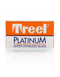 Treet Platinum divpusēji skūšanās asmeņi 10 gab