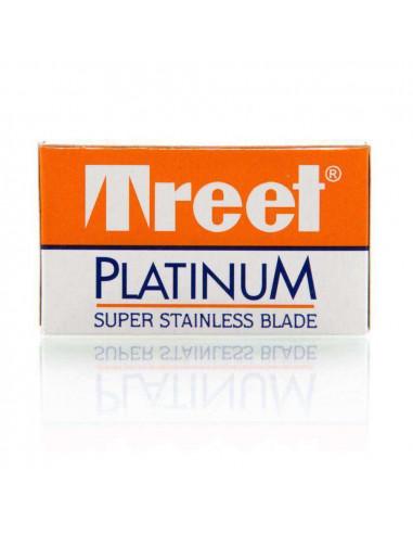 Treet Platinum dviašmeniai skutimosi peiliukai 10 vnt