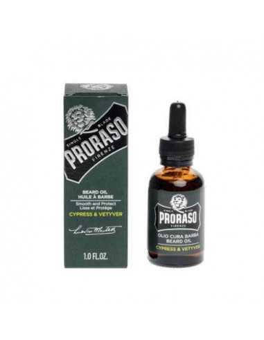 Proraso habeme õli Cypress Vetyver 30ml