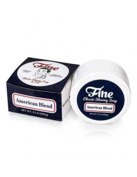 Fine Accoutrements skutimosi muilas American Blend 100g