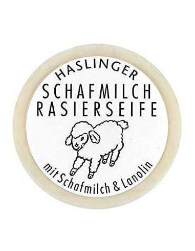 Haslinger skūšanās ziepes ar aitas pienu 60g