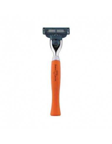 Edwin Jagger Mach3 habemenuga oranži käepidemega