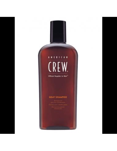 American Crew šampūnas žiliems plaukams vyrams 250ml