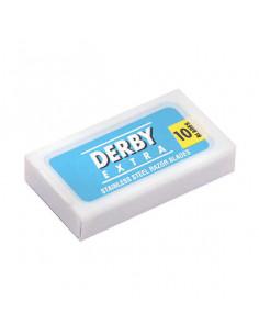 Derby Blue Extra dviašmeniai skutimosi peiliukai 10 vnt