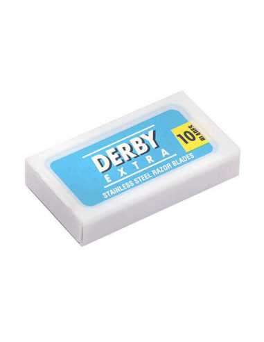 Derby Blue Extra divpusēji skūšanās asmeņi 10 gab