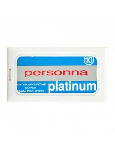 Personna Platinum dviašmeniai skutimosi peiliukai 10 vnt
