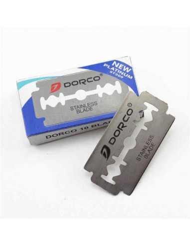 Dorco Platinum dviašmeniai skutimosi peiliukai 10 vnt