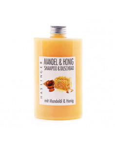 Haslinger šampūnas-dušo gelis su migdolais 200 ml