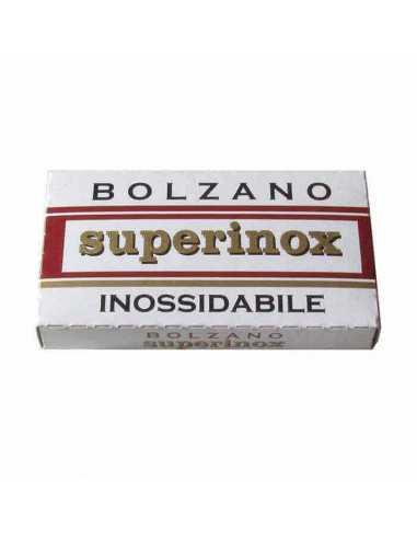 Bolzano Superinox dviašmeniai skutimosi peiliukai 5 vnt