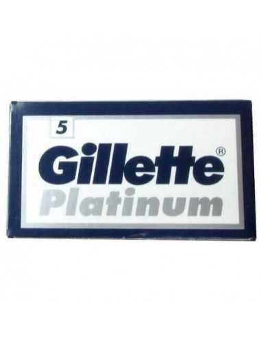 Gillette Platinum divpusēji skūšanās asmeņi 5 gab