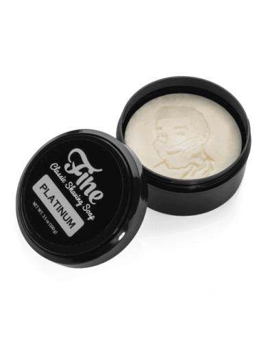 Fine Accoutrements Platinum raseerimisseep 100g