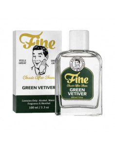 Fine losjonas po skutimosi Green Vetiver 100ml