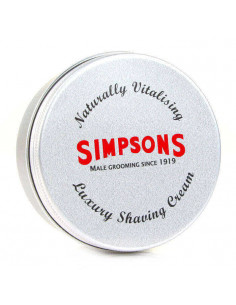 Skutimosi kremas Simpsons Luxury 125ml