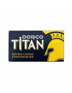 Dorco Titan dviašmeniai skutimosi peiliukai 10 vnt