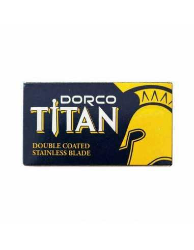 Dorco Titan divpusēji skūšanās asmeņi 10 gab