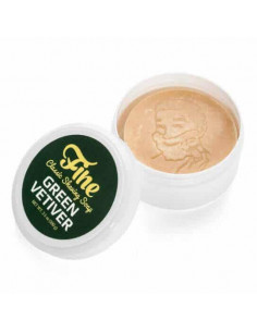 Fine Accoutrements skutimosi muilas Green Vetiver 100g