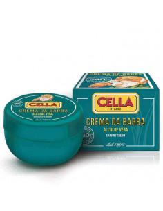 Cella skutimosi kremas-muilas Bio Aloe Vera indelyje 150ml