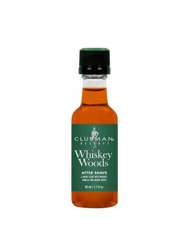 Clubman Pinaud raseerimisjärgne kreem Whiskey Woods 50ml