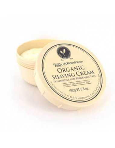 Taylor of Old Bond Street skūšanās krēms Organic 150g