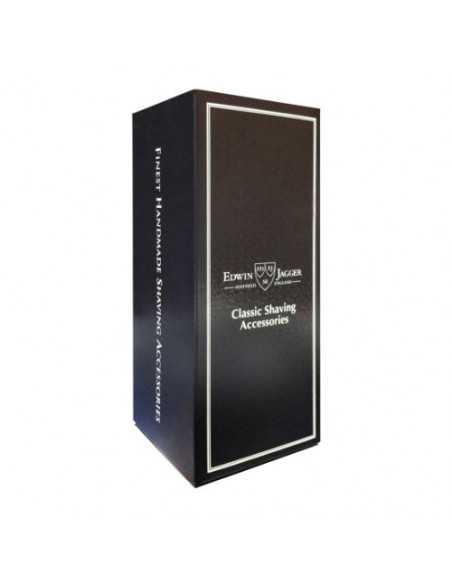Edwin Jagger dviašmenis skustuvas aštuonkampę juodą rankenėlę