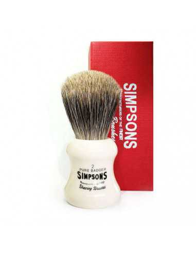 Simpson Eagle G2 Pure Badger skūšanās...