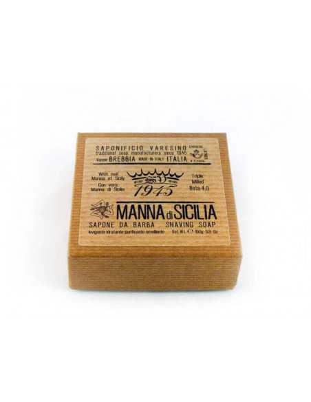 Saponificio Varesino skūšanās ziepes Manna di Sicilia 150g