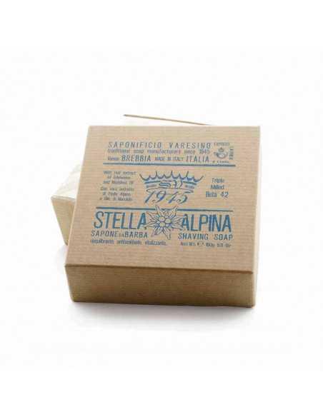 Saponificio Varesino skūšanās ziepes Stella Alpina 150g