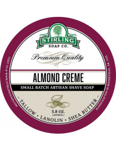 Skutimosi muilas Stirling Soap Almond Creme 170ml